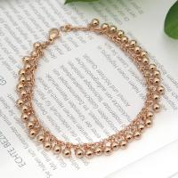 Tiffany Beads Bracelet Rose Gold Plated