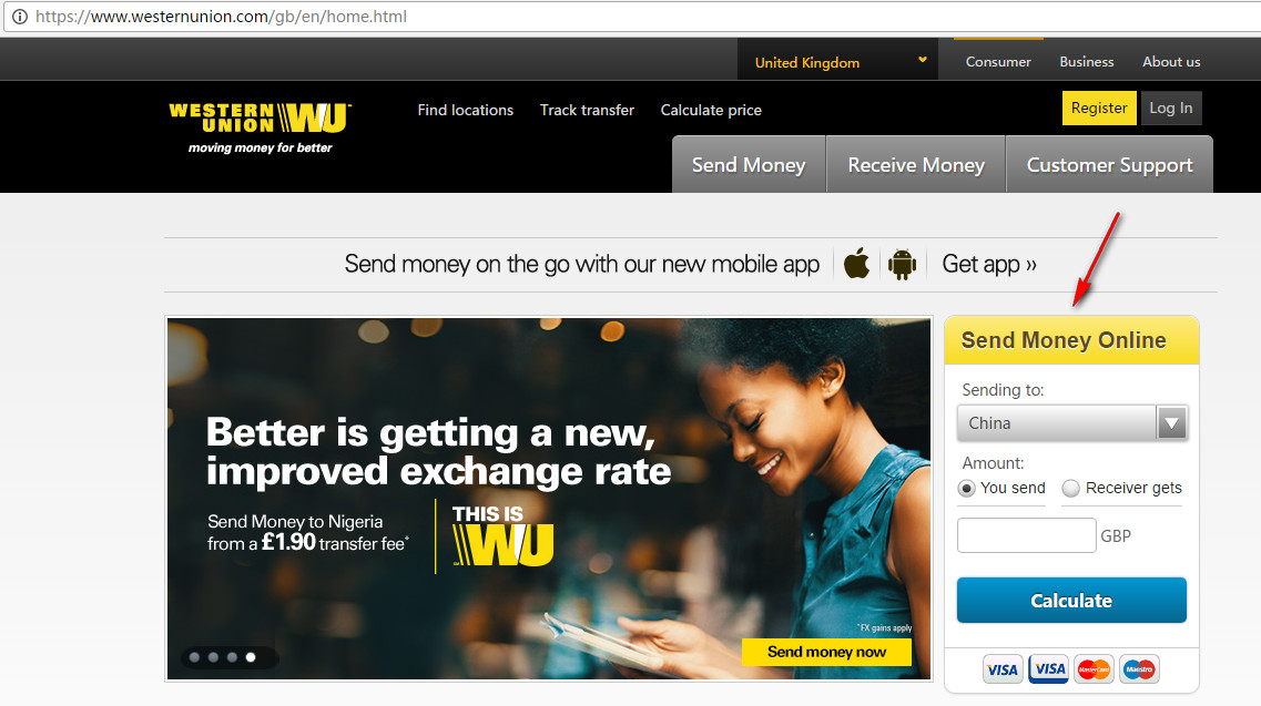 Western Union Payment Help
